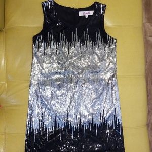 Dresses & Skirts - Sequined tank cocktail dress